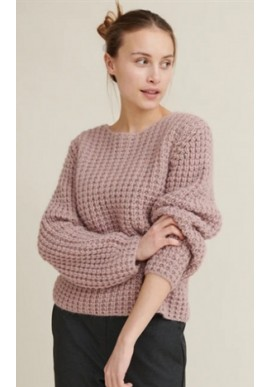 Basic Apparel Sweater - Laurie - Nostalgia Rose