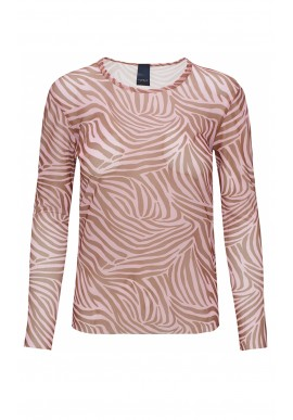 One Two Luxzuz Bluse - Sigborg - Ice Pink