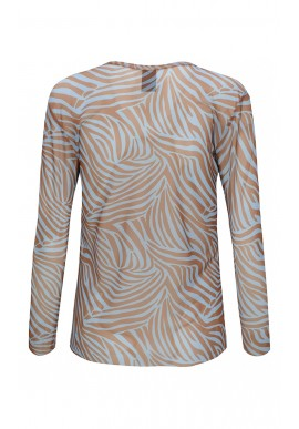 One Two Luxzuz Bluse - Sigborg - Ice Blue