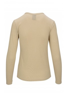 Luxzuz One Two T-shirt - Lucia - Golden Sand